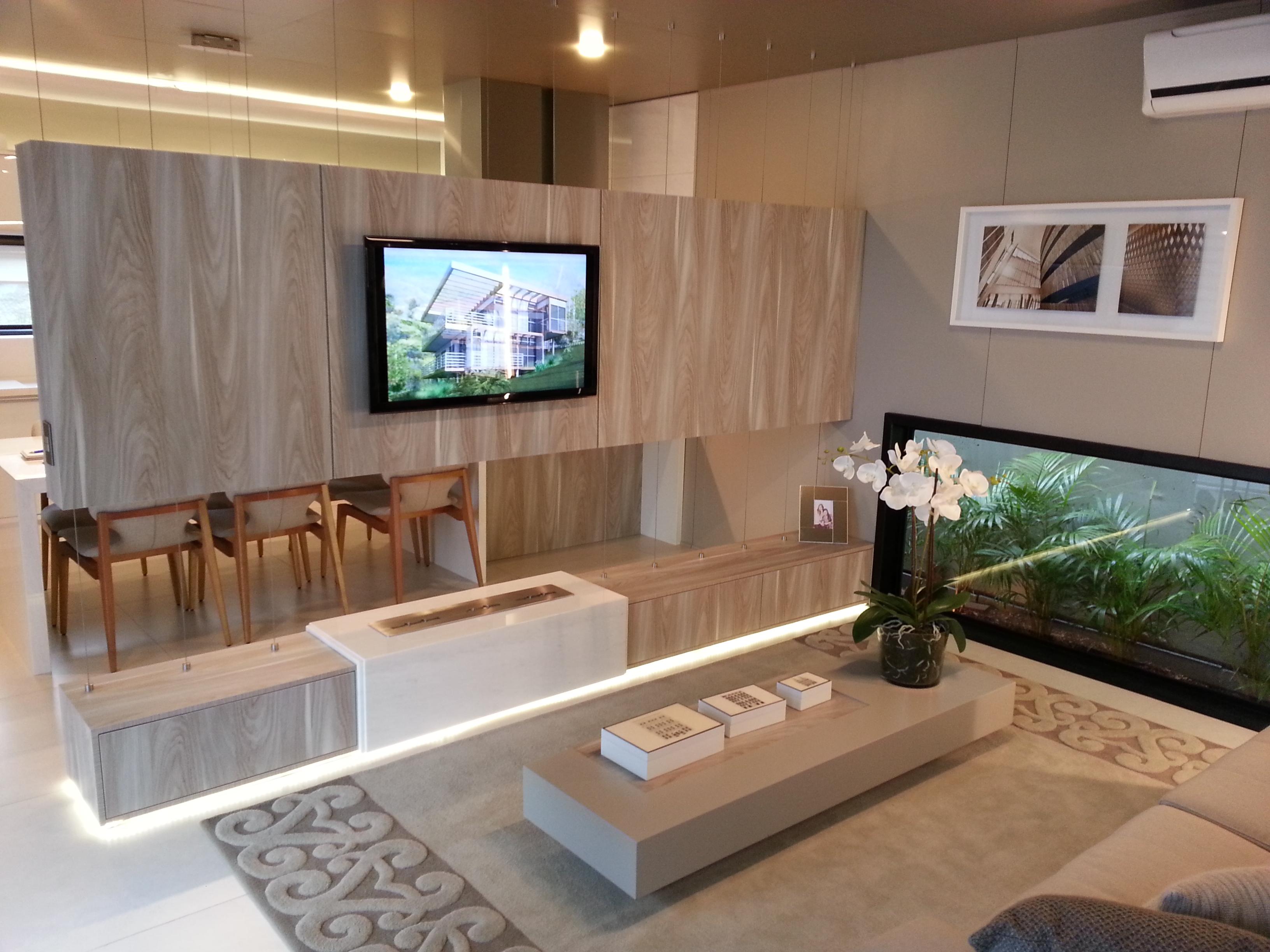 Grandes Ideias Para Pequenos Espa Os Rede Tv Mais -> Decoracao De Sala De Estar Pequena Com Tv