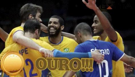 Brasil bate Itália e fecha a Rio-2016 com mais um ouro - Rede TV Mais 008780bb41ff4